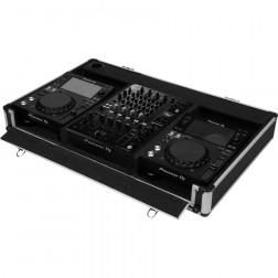 "Walkasse CASE-X1012GLII flightcase μεταλλική θήκη μεταφοράς για 12"" μίκτες και 10"" DJ CD / Media Players"