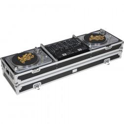 "Walkasse WMDJ-19 Θήκη Flight Case για Rackmount DJ mixer 19"" & 2 TT (Normal Position)"