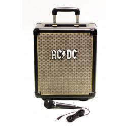 ACDC TNT-3 Vintage Style αυτοενισχυόμενο Ηχείο MP3 USB Bluetooth και μικρόφωνο μπαταρίας ρεύματος