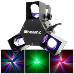 Beamz Triple Flex centre Pro LED DMX
