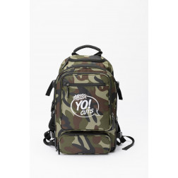 "Magma DIGI DJ-BACKPACK universal τσάντα πλάτης σε χρώμα παραλλαγής ""PRACTICE YO CUTS"" edition"