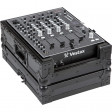 "Walkasse WM-12MPLUSBKGL. Case for Mixer or CD Player 12"". Black Edition"